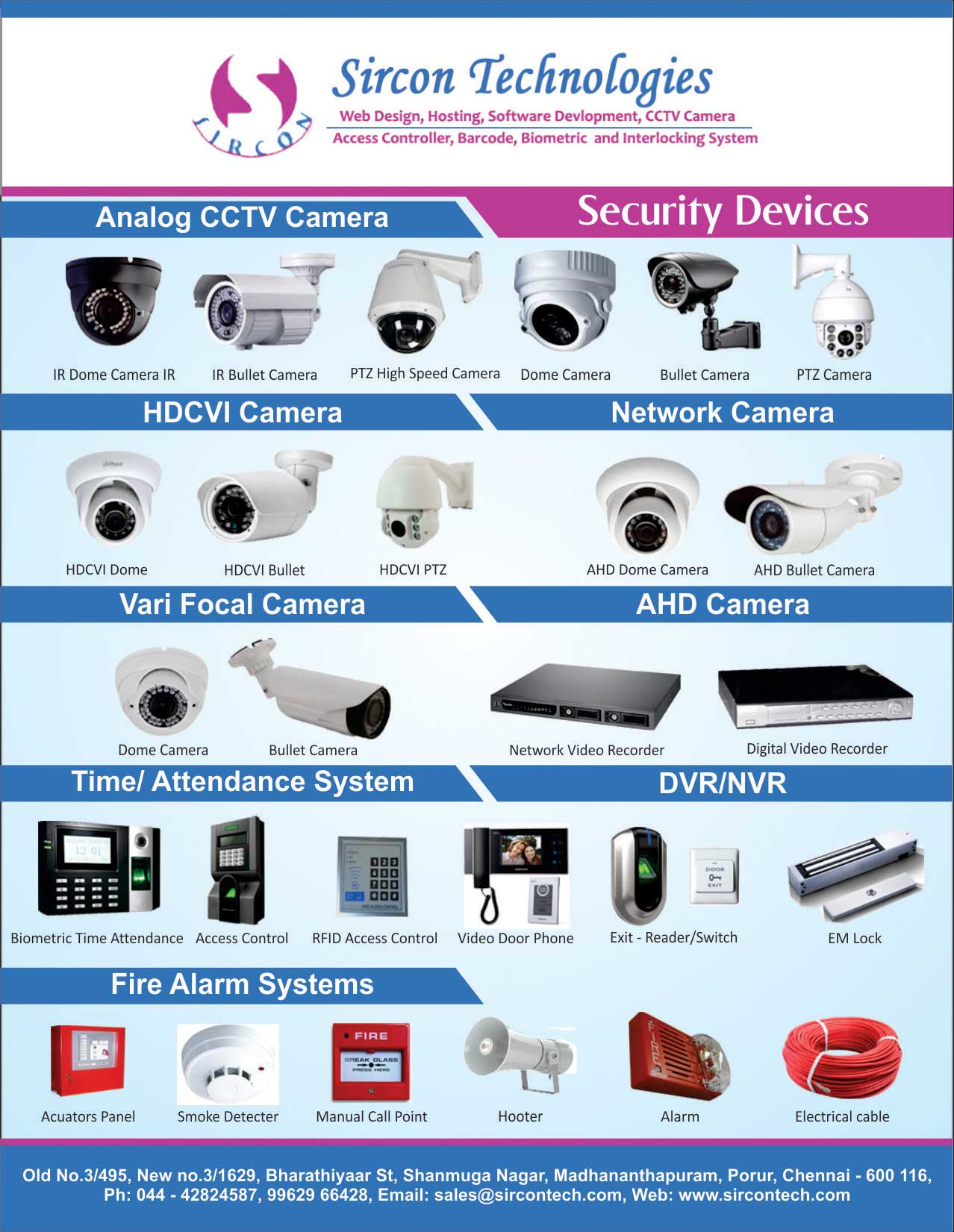 Security Devices in chennai